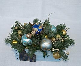 Dekorácie - Dekorácia 49 - Vianoce - 12603862_