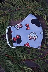 Rúška - Dievčenské rúško - Minnie - 12605721_