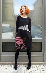 Šaty - CUBA LIBRE- sešívané šaty - 12602184_