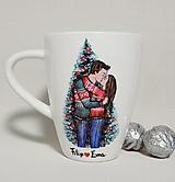 Nádoby - Vianočný hrnček ❤️ - 12606219_