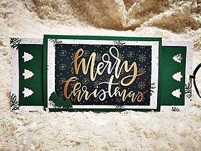 Papiernictvo - Vianočná pohľadnica - 12606023_