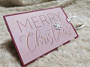 Papiernictvo - Vianočná pohľadnica - 12606351_