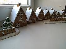 Dekorácie - keramika domčeky... (Domček stredny) - 12602112_
