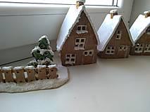Dekorácie - keramika domčeky... (Domček velky) - 12602157_
