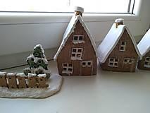 Dekorácie - keramika domčeky... (Domček velky) - 12602158_