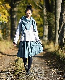 Sukne - Lněná sukně - Baltique - 12606470_