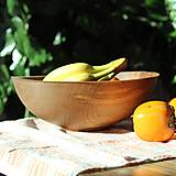 Nádoby - miska z bukového dreva - 12605188_