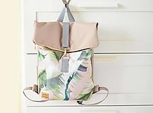 Batohy - RollTop ruksak Rolly (prírodný) - 12611469_