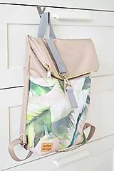 Batohy - RollTop ruksak Rolly (prírodný) - 12611475_