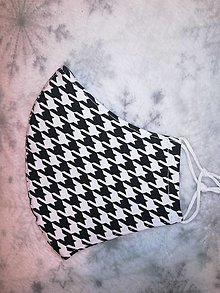 Rúška - Dámske rúško Pepito s anibakterálnou bavlnou (dámska veľkosť) - 12609588_