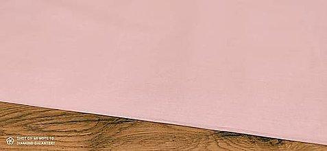 Textil - Bavlnená látka - Staroružová - cena za 10 centimetrov - 12607600_