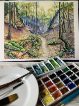 Obrazy - Gaderskou dolinou - 12608252_