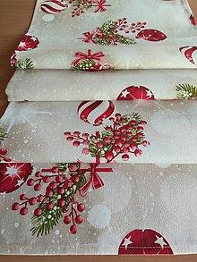 Úžitkový textil - Štóla vianočná - 12612816_