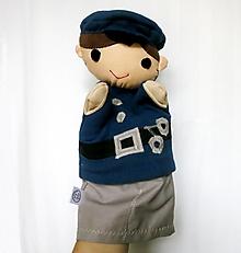 Hračky - Maňuška policajt - 12607126_