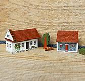 Dekorácie - Miniatúrny dvor zo Záhoria - 12612510_