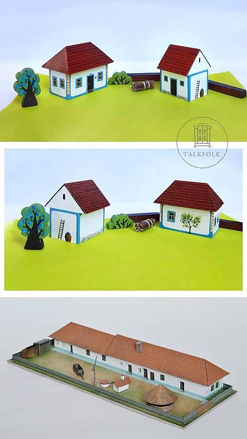 Miniatúrny dvor zo Záhoria (Myjava)