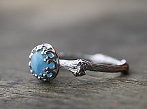Prstene - Vetvickový s oblohou z larimaru - 12613050_
