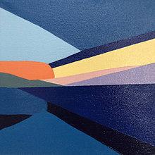Obrazy - Západ slnka na mori - 12609389_