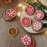 Dekorácie - Snehové vločky- vianočná ozdoba - 12609106_