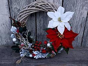 Dekorácie - vianočný venček - 12608486_