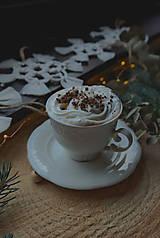 Dekorácie - Macramé vianočné ozdoby SET - 12611272_