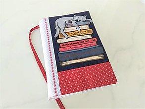 Papiernictvo - Kočky čtenářky - veselý obal na knihu  SKLADEM - 12606841_