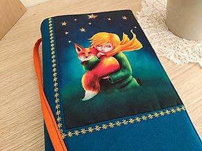 Papiernictvo - Malý princ - milý obal na knihu - 12606844_