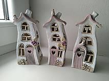Dekorácie - keramika tancujúci domček... - 12608870_