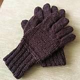 Rukavice - rukavice 100% vlna - 12608563_