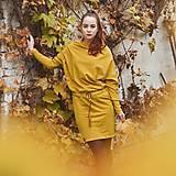Šaty - Športové šaty Contrast (mustard) - 12609981_