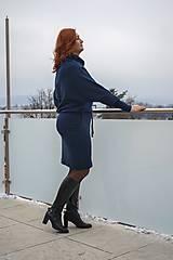 Šaty - Sportovní šaty Contrast (navy) - 12610068_