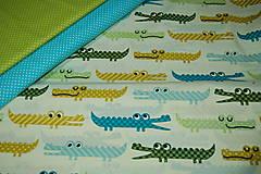 Textil - krokodíl - 12607197_
