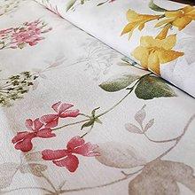 Textil - Jarné kvety - poťahovka - 12609405_