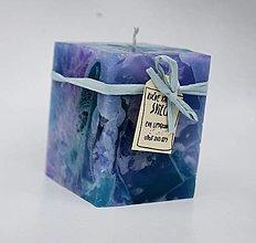 Svietidlá a sviečky - Dizajnová sviečka - 12607794_