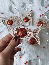 Dekorácie - Vianočná ozdoba salónka kapor - 12616832_