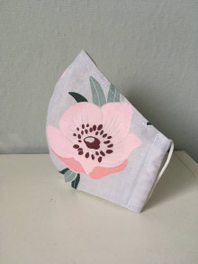 Rúška - Tvarovane dvojvrstvove rusko - detail kvet - 12614428_