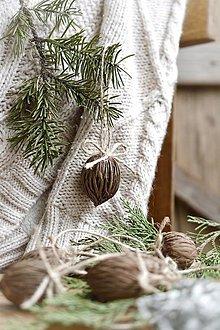 Dekorácie - Vianočné ozdoby Plody - 12613426_