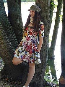 """Šaty - Šaty """" Maľovaná rozprávka """" - 12618848_"""