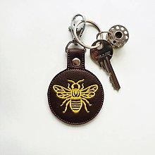 Kľúčenky - Prívesok včielka - 12613513_