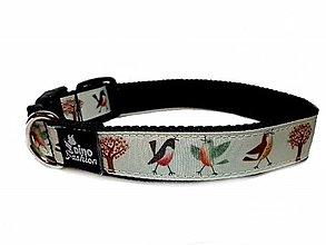 Pre zvieratá - Obojok Dinofashion Birds - 12615470_