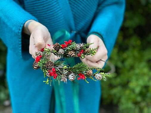 """Set venčekov mama/dcéra """"vianočný les"""" - výpredaj z 38€"""