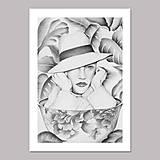 Grafika - Coffee dreamer grafika black &white - 12618916_