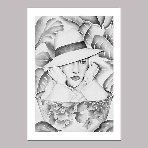 Coffee dreamer grafika black &white