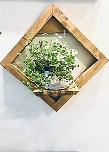 Nábytok - Policovy stojan na rastlinu z kolekcie Jonathan - 12614693_