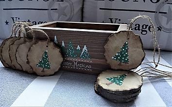 Nábytok - Debnička s vianočnými ozdobami - 12622666_