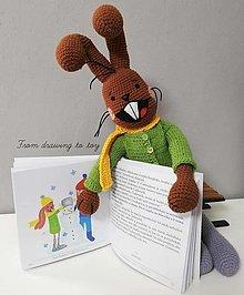 Návody a literatúra - Návod na uháčkovanie zajačika Čudováčika - 12620642_
