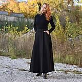 "Sukne - TIANA - midi/maxi sukňa s vreckami ""rôzne farby"" - 12625199_"
