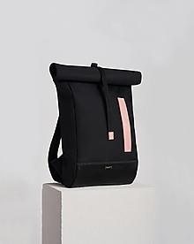 Batohy - Rolltop black/nude - 12623436_
