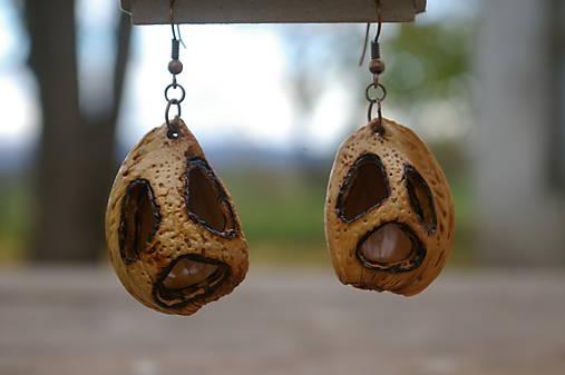 Náušnice mandla