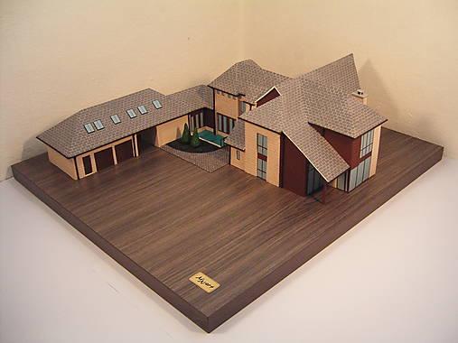 3D maketa domu / objektu